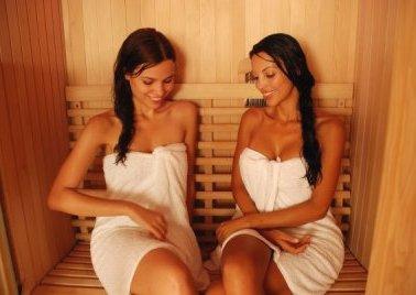 девушки худеют с помощью бани